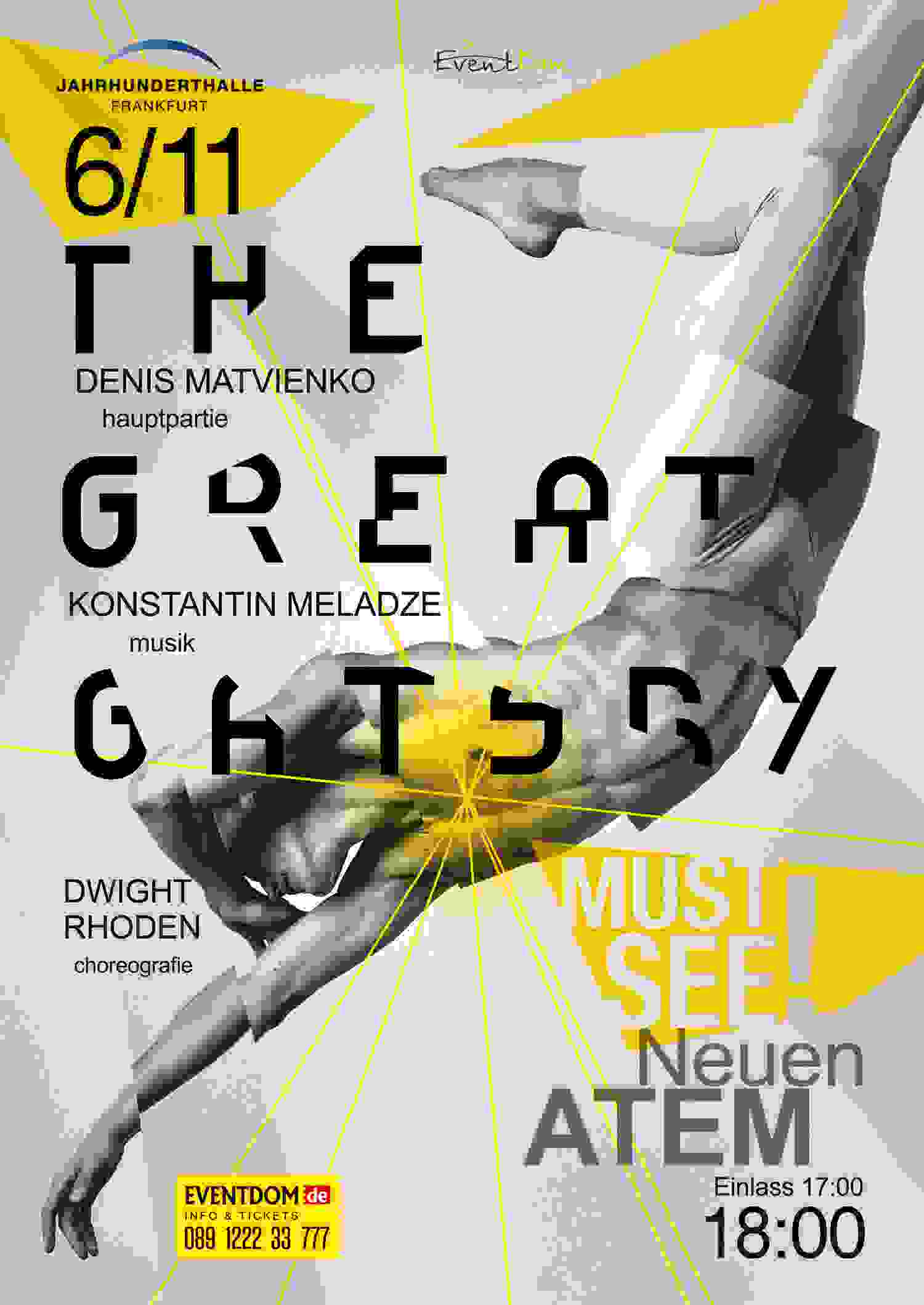 The Great Gatsby Plakat Frankfurt Klein De